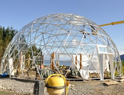 Производство металлоконструкций для купольного строительства
