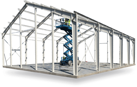 Монтаж зданий из металлоконструкций