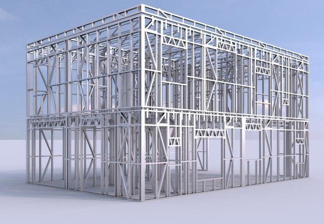 Здания из легких металлических конструкци